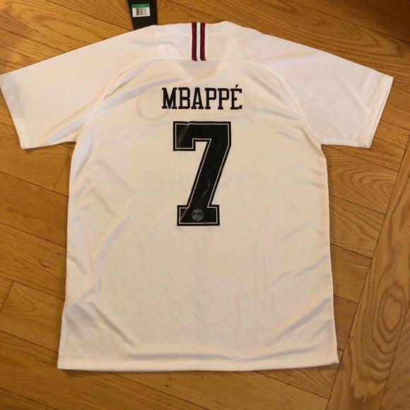 new product ca42a faa40 2018-2019 PSG Mbappe Champions League Jersey XL NWT